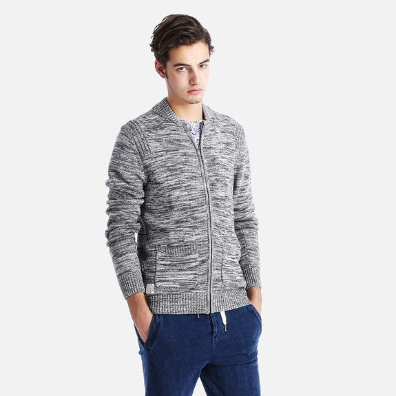 Native Youth - Twist Yarn Knitted Bomber