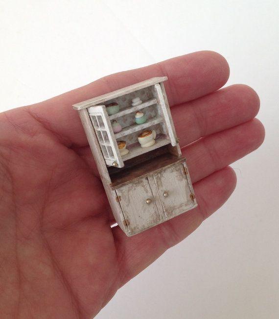 miniature 14 148 quarter inch modern display cabinet dresser hutch cupboard with