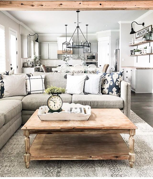 Heavenly Home With Images Modern Farmhouse Living Room