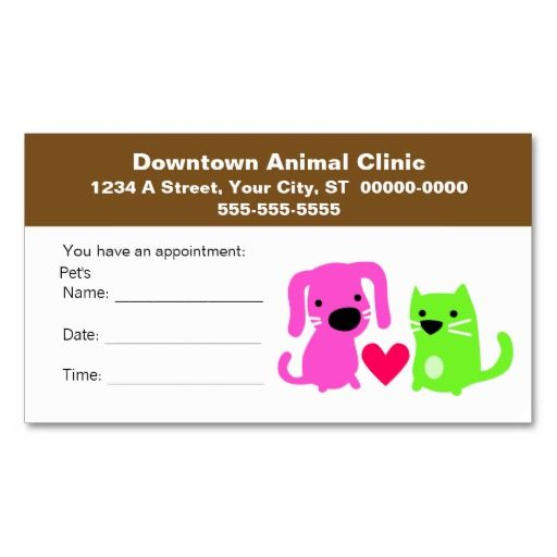 54 best images about veterinary business cards on pinterest. Black Bedroom Furniture Sets. Home Design Ideas