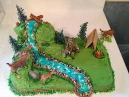 Resultado de imagen para deer hunting birthday cake for boys