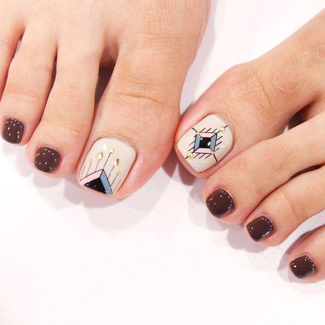 Nail Polish Ka Design Dikhaye: Best 25+ Toe Nail Polish Ideas On Pinterest