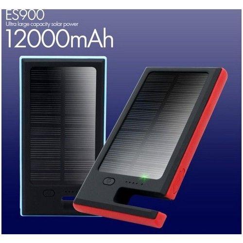 Vízálló napelemes mobil és tablet töltő 12000mAh