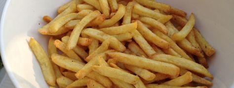 De beste frietjes ooit uit de Airfryer Verse friet uit de koeling van de Lidl.