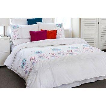 ISOBEL? Duvet Cover Sets - Bedroomware - Briscoes - Cloud 9 Optima Kiki Duvet Cover Set