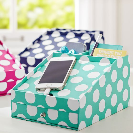 Printed Desk Accessories - Phone Charging Station | PBteen