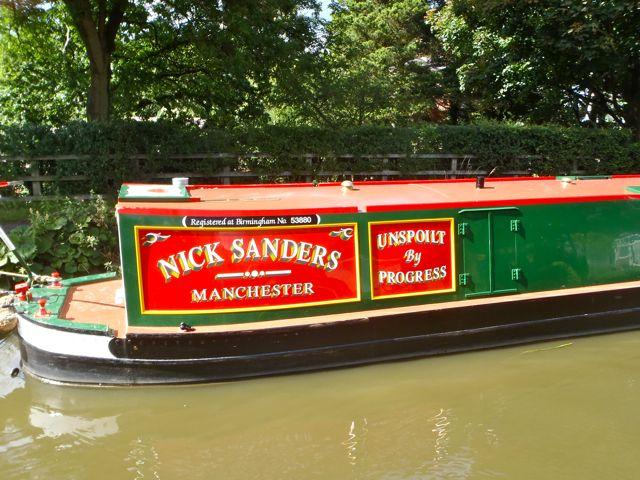Narrow boat sign writing companies