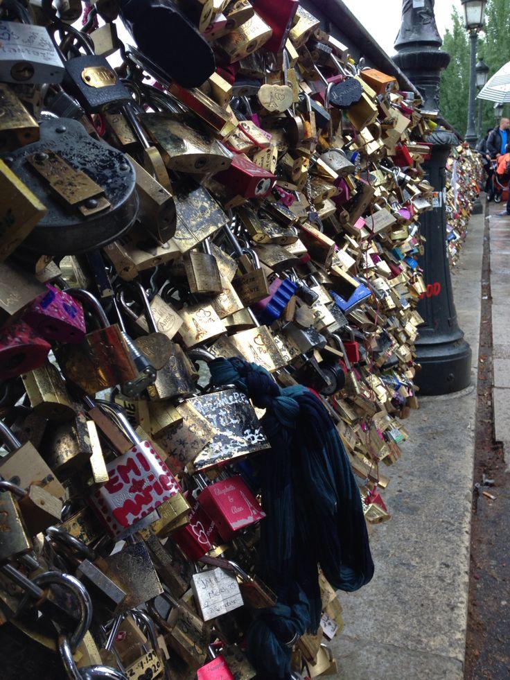The key to the heart #padlocks
