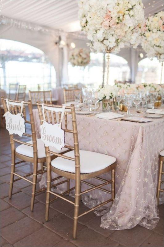 Pantone's 2016 Color: 19 Lovely Rose Quartz Wedding Ideas - Weddingomania: