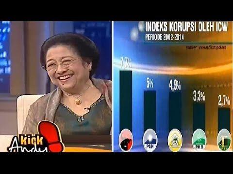 Ini Jawaban Mengejutkan Megawati Ditanya Soal PDIP Juara Korupsi