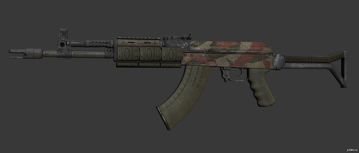 AK-105 » Pack 3D models