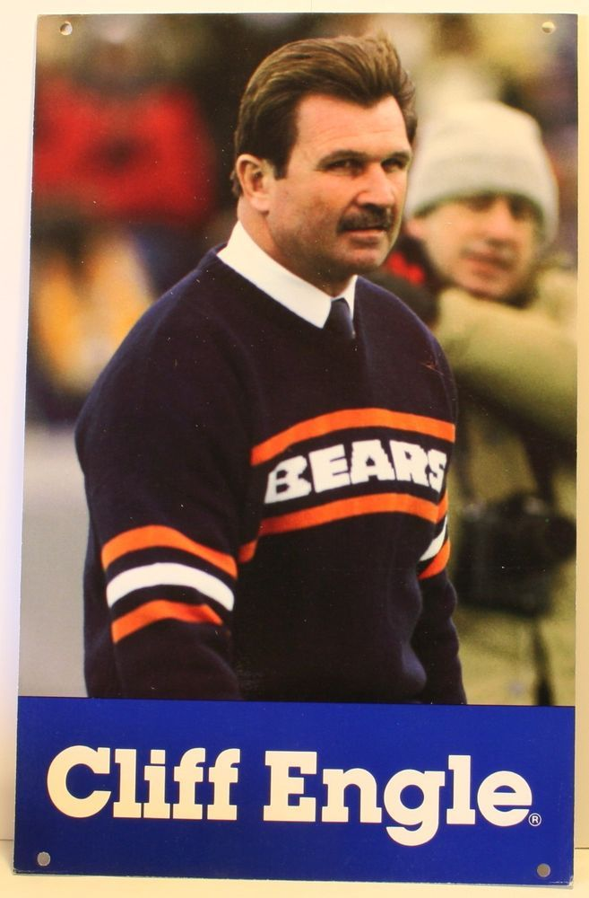 Mike Ditka Bears Sweater Vest