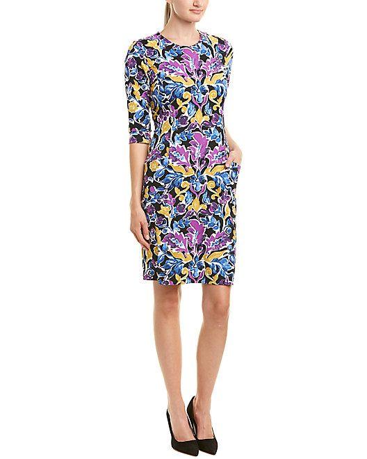 b0897fa37aa J.McLaughlin Catalina Cloth Shift Dress  Catalina