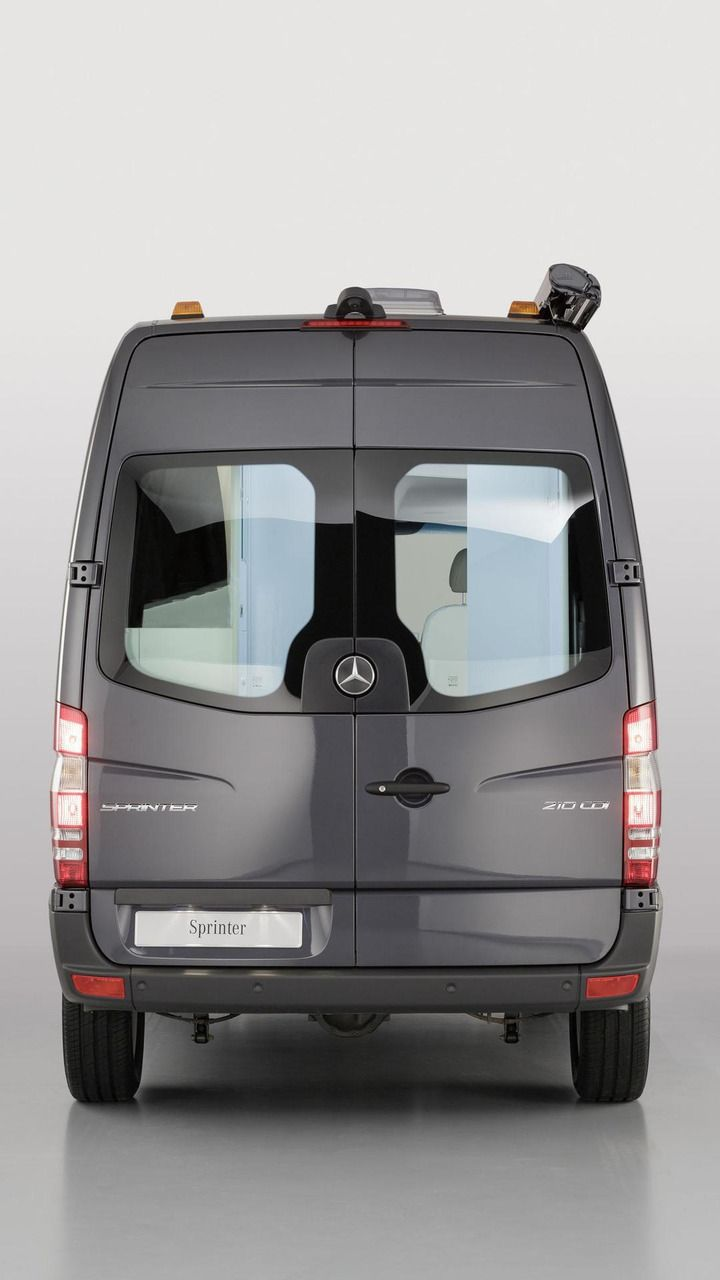 Mercedes benz has moved into the caravan salon 2013 held in d sseldorf germany with several new live in showcases starting with the sprinter caravan