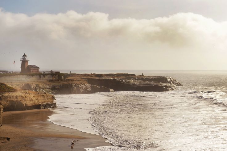 Lighthouse Poin Park Santa Cruz California