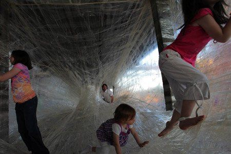 Tape Installation by For Use and Numen at DMY Berlin8