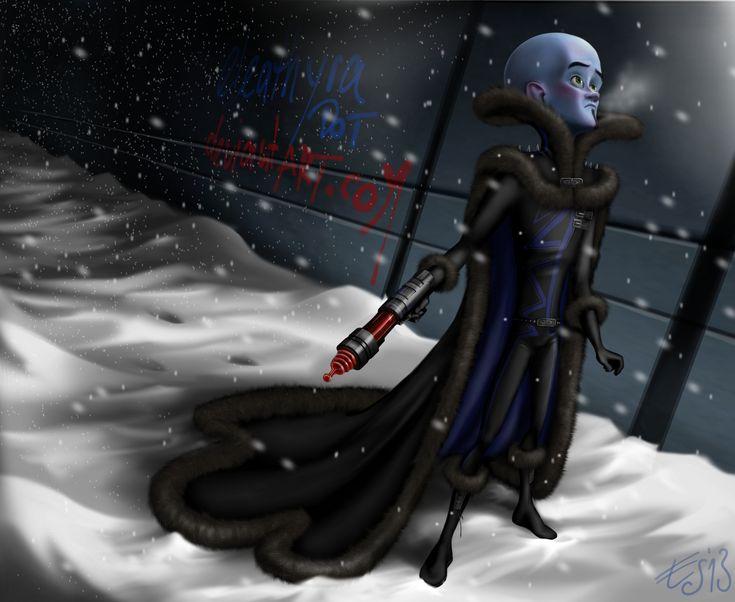Megamind in winter clothing (full design) by eleathyra.deviantart.com on @deviantART