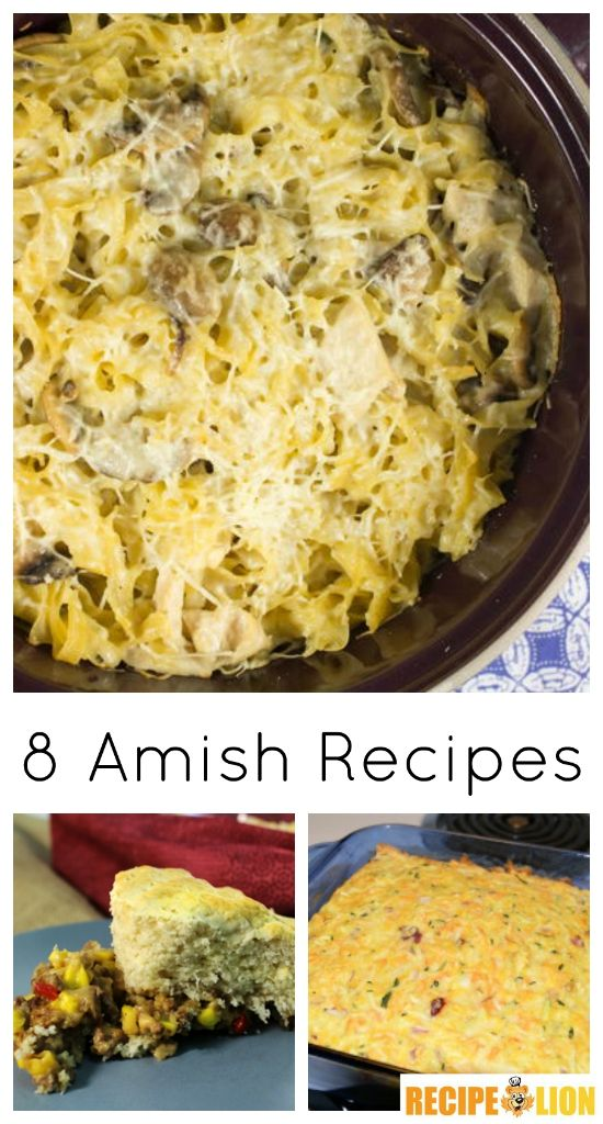 Amish recipes are just some of the best easy recipes. These casseroles and easy dinners are sure to satisfy and delight. They're traditional classics, after all!