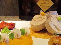 Recette champagne - Suprême de pintade au Comté et sa mousseline de carottes des sables We love Champagne: www.the-champagne.ch Zürcher-Gehrig AG Switzerland @ZGAChampagne www.facebook.com/pages/Zurcher-Gehrig-AG