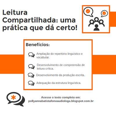 Pollyanna Barros Batista : Leitura compartilhada: uma práticaque dá certo!  ...