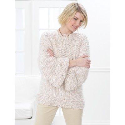 Easy Women's Sweater Knit Pattern