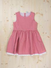 Olivia Dress - Dots & Knots Avaiilable sizes 2T -10T