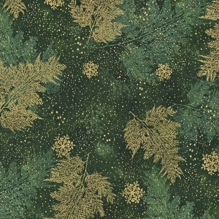 Robert Kaufman - Holiday Flourish APTM-7910-44 FOREST