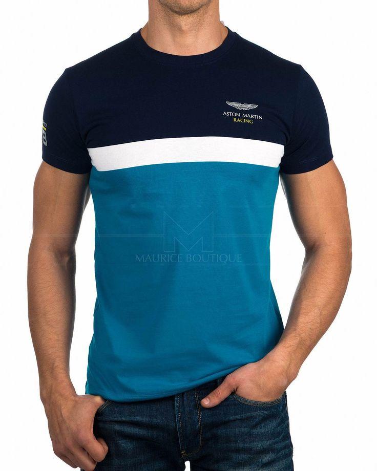 Camiseta Hackett Aston Martin - Stipe Tee | Envío Gratis