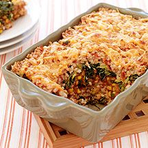Mexican Style Brown Rice Casserole