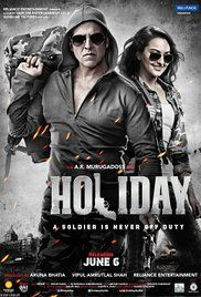 Holiday 2014 Full Movie Dailymotion. A military officer attempts to hunt down a terrorist, destroy a terrorist gang and deactivate the sleeper cells under its command.