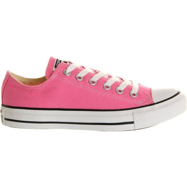 Converse All Star low-top trainers found on Polyvore featuring shoes, sneakers, converse, low top, converse trainers, low profile shoes, converse sneakers and star shoes