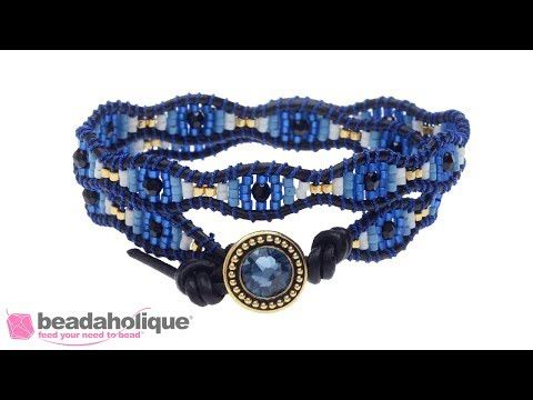 (27) How to Create a Scalloped Evil Eye Design on the Wrapit Loom - YouTube