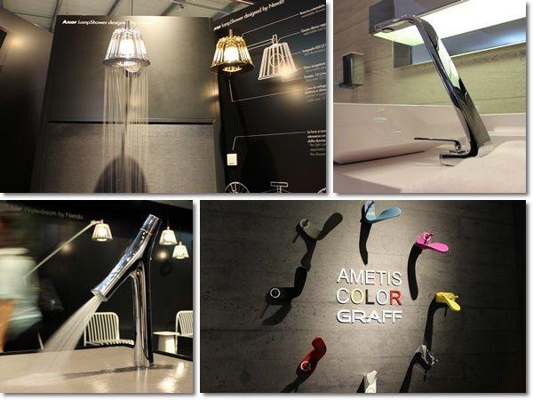 Design Faucets @ Milan Design Week #SaloneBagno #isaloni #MilanoDesignWeek #Saloneinternazionaledelmobile