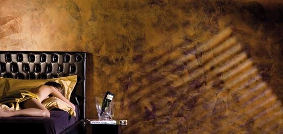 Seduzioni, dato dall, unione fra Spirito Libero e Collezione di Gioia, caratterizza le tue pareti son innumerevoli effetti multicolore. Camera da letto da sogno, dormire immersi nel #colore. #giorgiograesan #decorazione #casa #design