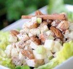 Tana Amen ~ Dr. Amen's wife   Amazing Apple Cinnamon Chicken Salad