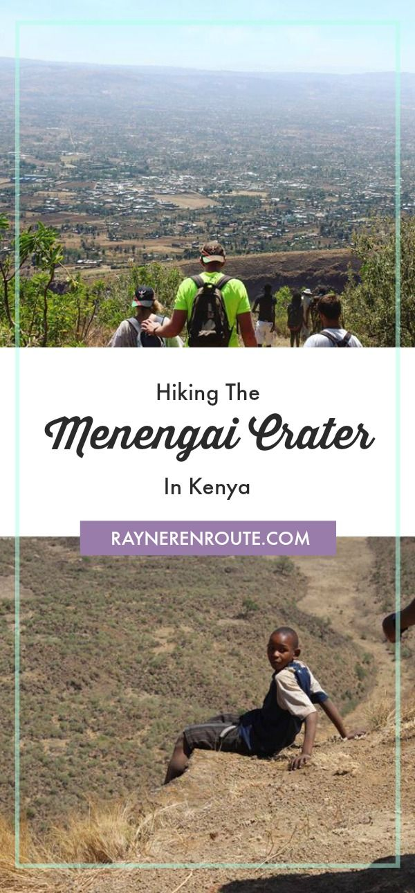 Find out what it's like to hike the Menengai crater - the largest volcanic crater in Kenya.