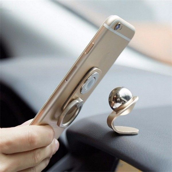 Universal 360° Rotation Phone Finger Ring Magnetic Car Holder Stand Mount for iPhone Samsung Xiaomi