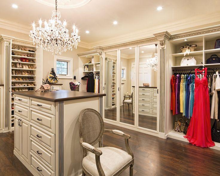 Orlando Antique White Walk In_Closet Factory