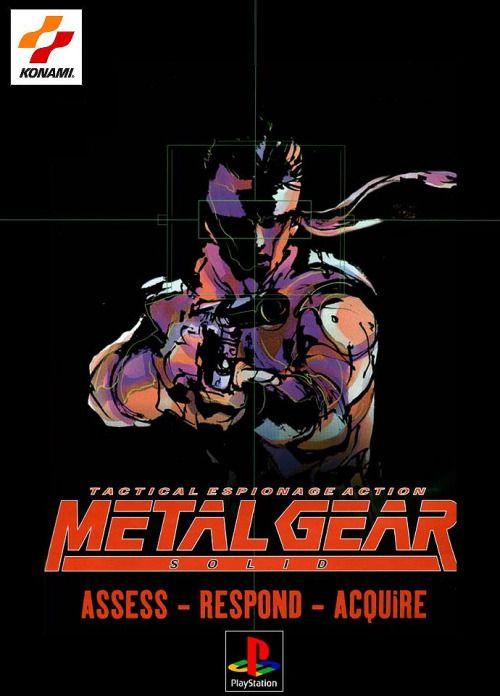 Metal Gear Solid advert.