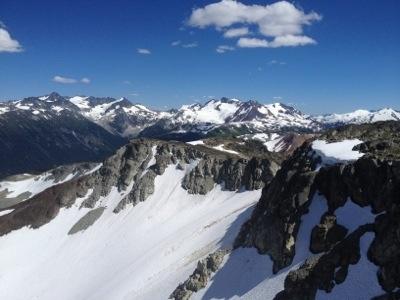 Blackcomb and Whistler, BC