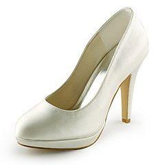 Bruiloft Schoenen - Zwart / Blauw / Roze / Paars / Rood / Ivoor / Wit / Zilver / Goud / Champagne - Huwelijk / Feesten & Uitgaan -Hoge