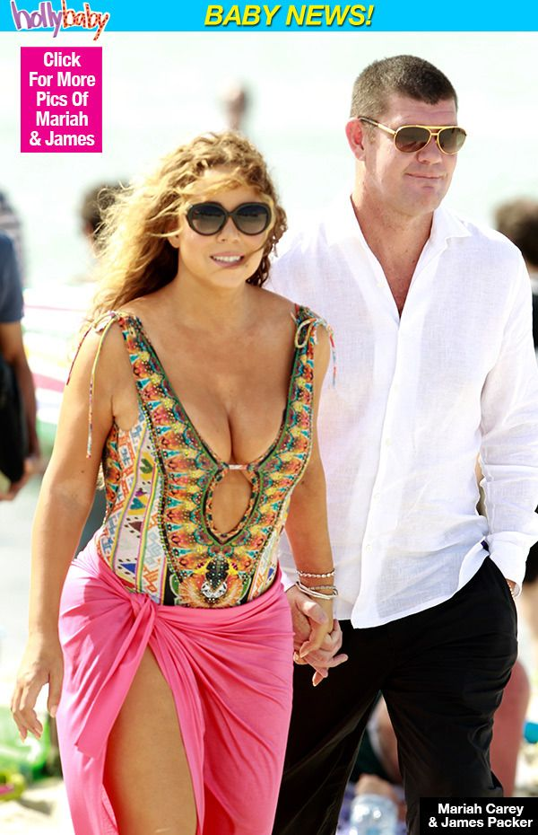 Mariah Carey & Boyfriend James Packer Expecting First Baby Together —Report