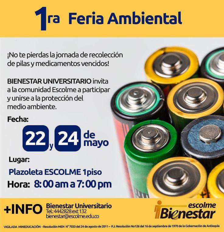 @Escolmeeduco ¡No olvides contribuir hoy 22 de mayo con el medio ambiente!
