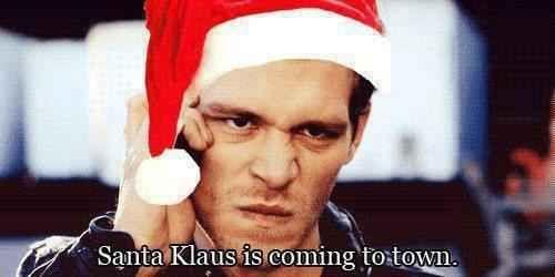 This festive pun.