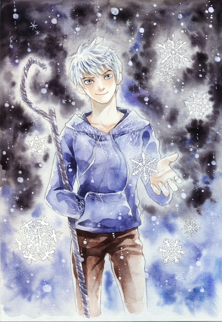 Jack Frost in the Snow by meodualeo Jack Frost from Rise of the Guardians. I wanted to capture all of his characteristics: mischievous, playful, but gentle, righteous, and attractive... but failed~~~ TT____TT""
