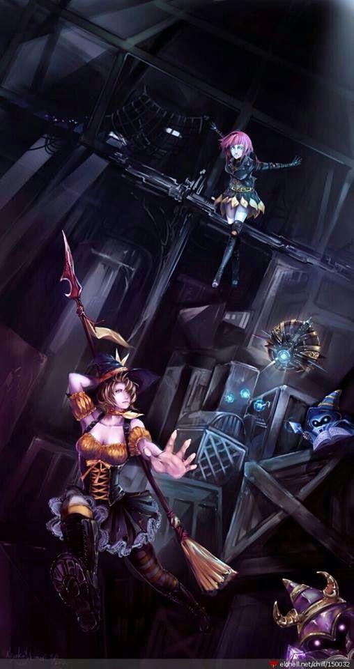 Bewitched Nidalee & Bladecraft Orianna