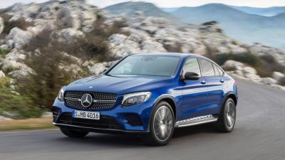 New Mercedes-Benz GLC Coupé by drive.gr