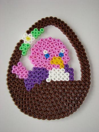 Easter Basket Hama Design