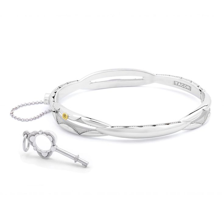 Silver Oval Promise Bracelet- SB177– Renee Taylor Gallery