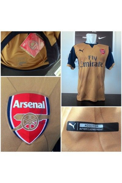 Jersey Arsenal Away Official 2015/2016